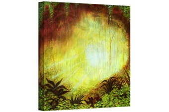 (14x14) - Art Wall Herb Dickenson 'Heavenly Forest' Gallery-wrapped Canvas Artwork