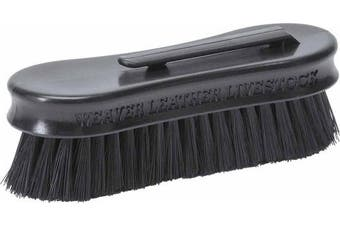 (Black) - Weaver Leather Small Pig Face Brush