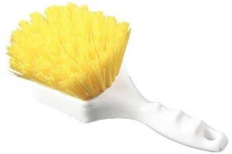 (Yellow) - Carlisle 4054104 Sparta Spectrum Polypropylene Handle General Clean Up Brush, Polyester Bristles, 20cm Length x 7.6cm Width, 4.1cm Bristle Trim, Yellow