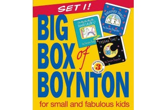 "Big Box of Boynton: WITH ""Barnyard Dance!"" AND ""Oh My, Oh Dinosaurs!"" AND ""Pajama Time!"" [Board book]"