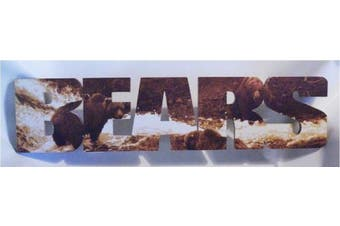 Bears Letters Sign made from wood for Bar Pub Den Hall Cabin Gameroom Man Cave