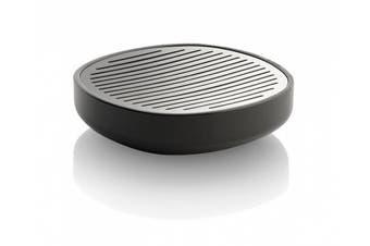 (Grey) - Alessi 11 x 11 x 3 cm Birillo Soap Dish, Grey