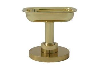 (satinchrome) - Allied Brass 956-SCH Solid Brass Decorative Soap Dish, Satin Chrome