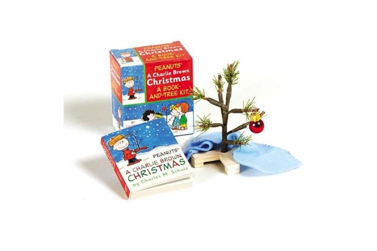 A Charlie Brown Christmas Kit: Book and Tree Kit [With Mini Christmas Tree, Mini Blanket & Ornament]