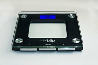 Blipcare Wi-Fi Weight Scale 5500WF, Track Weight, BMI and Balance Score; 10 users; Audible Reminders