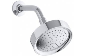(Polished Chrome) - KOHLER K-965-AK-CP Purist Single Function Katalyst Showerhead, Polished Chrome