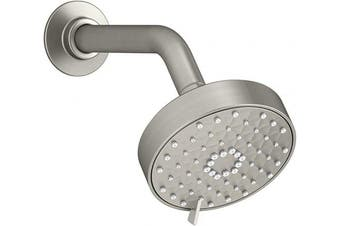 (2.0 GPM, Brushed Nickel) - KOHLER K-72419-BN Awaken G110 Multifunction Showerhead, Vibrant Brushed Nickel