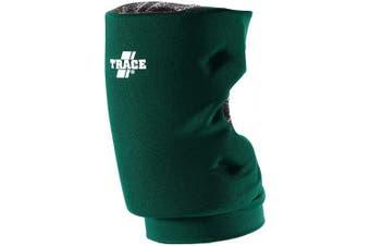 (Large, Green) - Adams USA Trace Short Style Softball Knee Guard