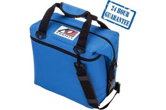 (24-can, Royal Blue) - AO Coolers Canvas Soft Cooler with High-Density Insulation, 12-Can to 48-Can