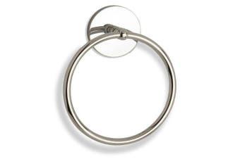 (matteblack) - Allied Brass 1016-BKM Skyline Collection Towel Ring, Matte Black