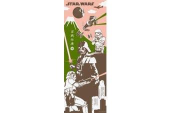 Star Wars Japanese Towel, TENUGUI (Darth Vader and The Storm Troops/The Veteran)