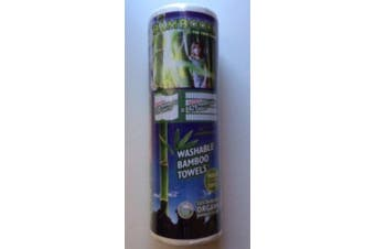 (1 Roll) - Bambooee - The Original Reuseable & Machine Washable Rayon from Bamboo Paper Towel Replacement As Seen on Shark Tank - We plant a tree with every roll we sell - 30-Sheet Roll