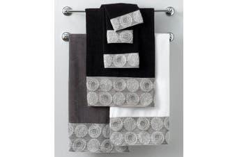 (Washcloth, White) - Avanti Linens Galaxy Wash Cloth, 30cm by 30cm , White