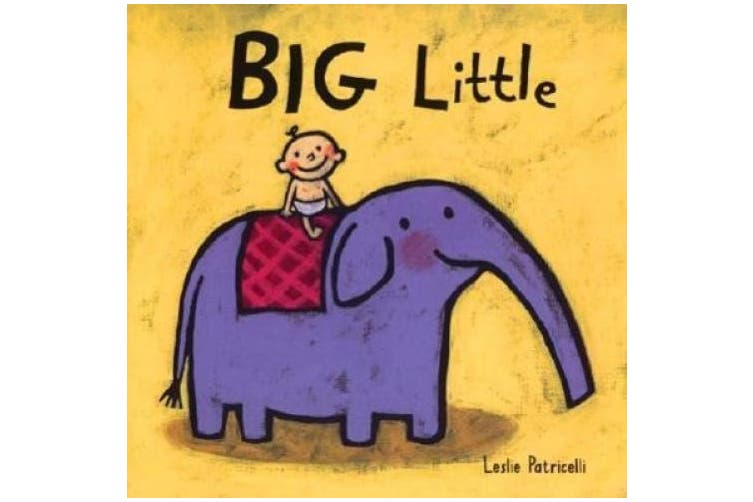 Big Little Board Book [Board book]
