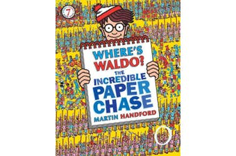 Where's Waldo? the Incredible Paper Chase (Where's Waldo?)