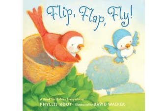 Random House RH9780763653255 Flip Flap Fly - chipboard pages