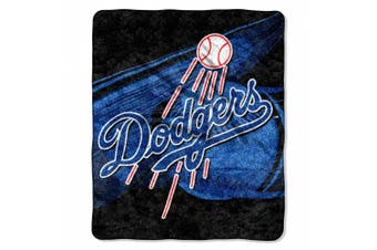 (Los Angeles Dodgers) - Officially Licenced MLB Big Stick Sherpa Throw Blanket, 130cm x 150cm