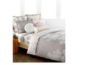 Style & Co. Home Snow Willow Ellipse White 41cm Round Throw Pillow