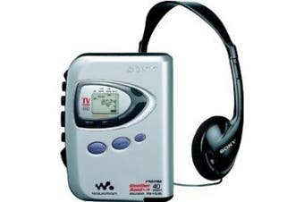 Sony WM-FX290 Stereo Walkman Cassette Player & Digital Tuning AM/FM/Weather Band + TV (analogue, non HD)