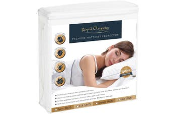 (Twin) - DELUXE BED BUGS Pillow & Mattress Protectors - LIFETIME WARRANTY