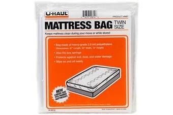 "(Twin Mattress Bag) - U-Haul Twin Mattress Bag for Moving and Storage Protection – 87"" x 39"" x 10"" Bag"