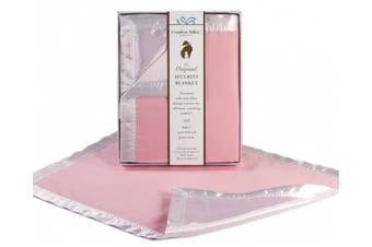 Pink COMFORT SILKIE Security Blanket ~ The Original. The Best. Award Winning.