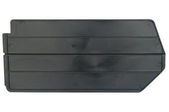 Akro-Mils 40239 Lengthwise Divider for 30239 AkroBin, Package of 6, Black