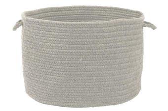 (Grey) - Colonial Mills WL18 18 by 46cm by 30cm Bristol Storage Basket, Grey