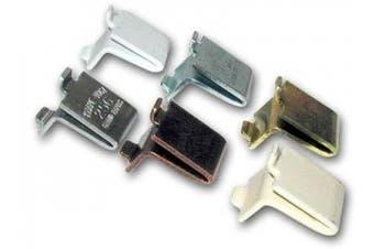 KV Shelf Support Clip (Bag of 20) Aluminium