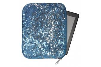 "(Mini"",""Blue) - 3C4G Magic Sequins Tablet Sleeve"