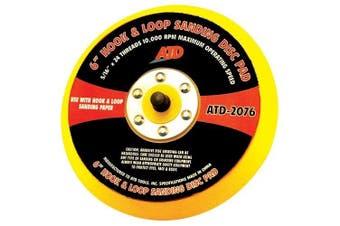 ATD Tools 2076 15cm Quick Change Sanding Disc Pad