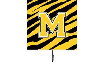 (m) - Monogram - Tiger Stripe - Black Gold Leash Holder or Key Hook CJ1026