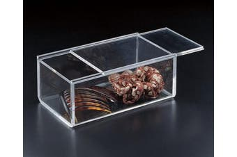 Sliding Lid Catch All Box (Acrylic)