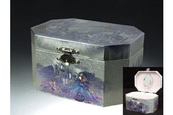 Childrens Castle Musical Jewellery Box