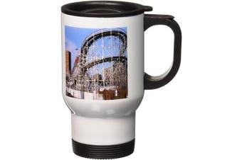 (410ml Travel Mug) - Coney Island - Coney Island Roller Coaster - Travel Mug