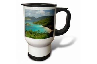 (410ml Travel Mug) - Danita Delimont - Bays - USVI, St. John, Trunk Bay, Virgin Islands NP-CA37 CMI0147 - Cindy Miller Hopkins - Travel Mug