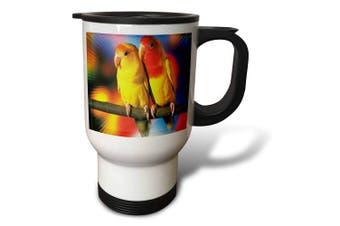 (410ml Travel Mug) - Florene America The Beautiful - Waterfall On Big Island Of Hawaii - Travel Mug