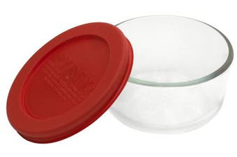(1-Cup) - Pyrex Simply Store 1-cup Glass Food Storage Dish
