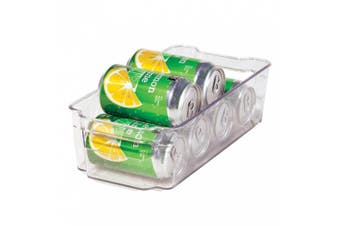 Oggi 5160 Clear Stackable Storage Bin for Fridge, Freezer and Pantry