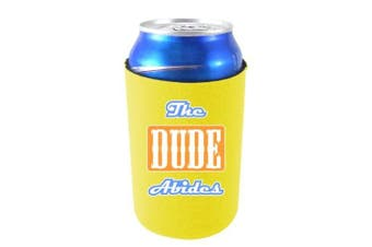 (Yellow) - Coolie Junction The Dude Abides Funny Can coolie