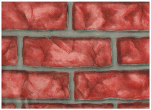 Zip Tac Brick Red Contact Paper (2.7m X 46cm ) #241 Use for shelves, drawers, and book covers. Decorate kitchens, baths, bedrooms and more.