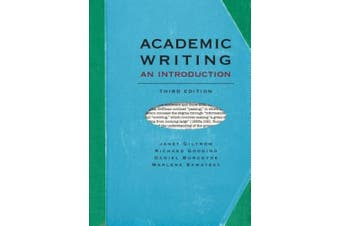 Academic Writing: An Introduction - Third Edition
