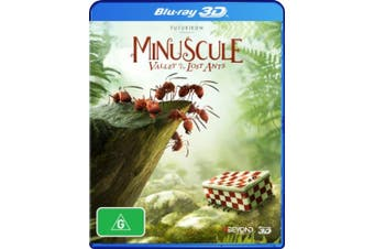 Minuscule: The Valley of the Lost Ants (3D Blu-ray) [Region B] [Blu-ray]