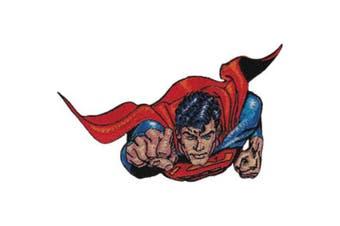 """(Superman Insignia 2.75""""X3"""") - C & D Visionary DC Comics Super Hero Patches Superman Insignia 10cm x 10cm X4"""""""