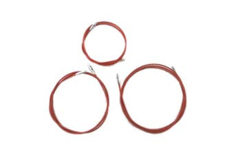 "(Length 8"" (20cm)) - ChiaoGoo TWIST Red Lace Interchangeable Cables 20cm"