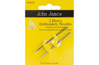 John James Heavy Embroidery Hand Needles