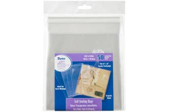 Darice Self-sealing Bags 50/Pkg