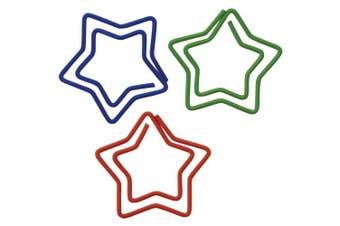 (starshaped) - Paper Clips 20/Pkg