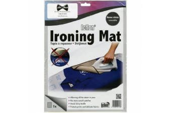 Bo-Nash Ironing Mat with Icflon Non-Stick Surface, 34cm by 25cm