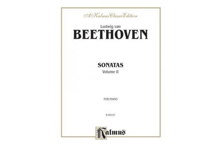 Sonatas (Urtext), Vol 2 (Kalmus Edition)